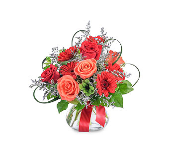 Scarlet Fire in Schaumburg IL, Deptula Florist & Gifts