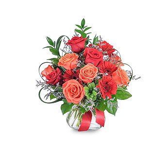 Scarlet Fire in Louisville KY, Country Squire Florist, Inc.