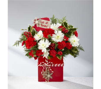 The FTD� Holiday Cheer� Bouquet in Norfolk VA, The Sunflower Florist