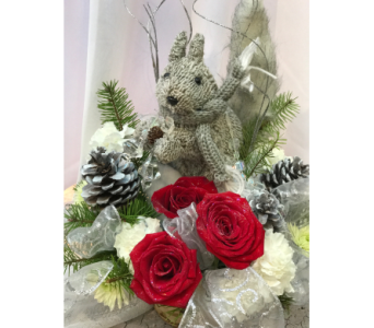 Winter Squirrel  in Spring Hill FL, Sherwood Florist Plus Nursery