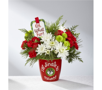 The FTD� I'll Jingle to That� Bouquet by Hallmark in Norfolk VA, The Sunflower Florist
