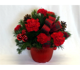 Merry Christmas Bouquet in Hollidaysburg PA, Warner's Florist Gifts & Greenhouse