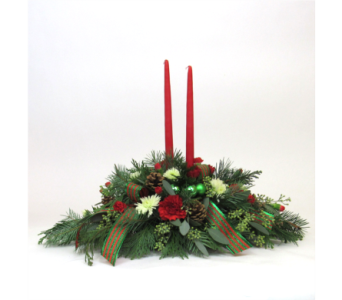 Candles for Christmas in Royersford PA, Three Peas In A Pod Florist