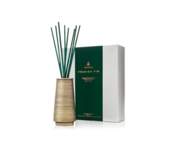 Frasier Fir by Thymes Joyeux Metal Reed Diffuser in Little Rock AR, Tipton & Hurst, Inc.