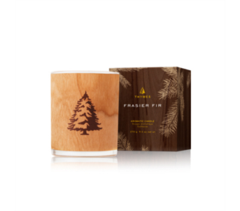 Frasier Fir by Thymes Northwoods Wooden Wick in Little Rock AR, Tipton & Hurst, Inc.