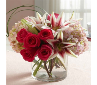 Because Of You Bouquet in Pittsburgh PA, Eiseltown Flowers & Gifts