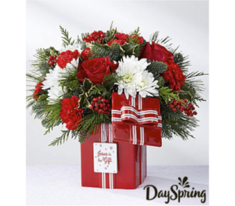 DaySpring Jesus Is the GIft Bouquet by FTD in Cleveland OH, Orban's Fruit & Flowers