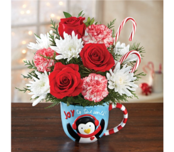 Joy To The World Mugable in Pittsburgh PA, Eiseltown Flowers & Gifts