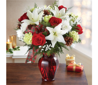 Holiday Tidings Bouquet in Pittsburgh PA, Eiseltown Flowers & Gifts