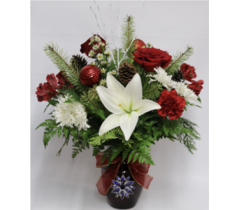 Snowy Seasons Bouquet in Fort Pierce FL, Giordano's Floral Creations