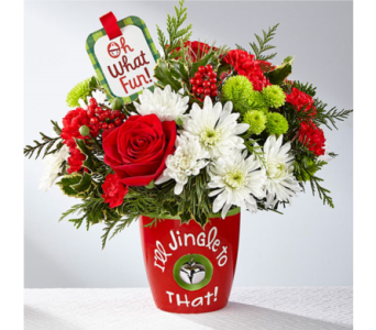 I'll Jingle To That in Owensboro KY, Welborn's Floral Company