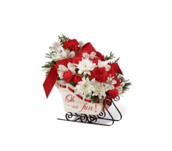The FTD� Holiday Traditions� Bouquet in Des Moines IA, Doherty's Flowers