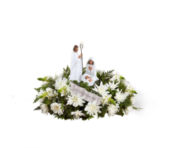DaySpring� God's Gift of Love� Centerpiece by FTD� in Des Moines IA, Doherty's Flowers