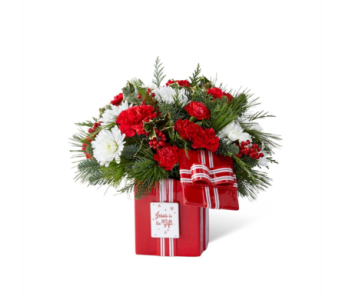DaySpring� Jesus is the Gift� Bouquet by FTD�  in Des Moines IA, Doherty's Flowers