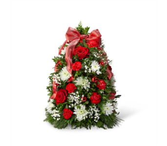 The FTD� Make it Merry� Tree in Des Moines IA, Doherty's Flowers