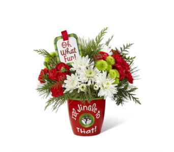 The FTD� I'll Jingle to That� Bouquet by Hallmark in Des Moines IA, Doherty's Flowers