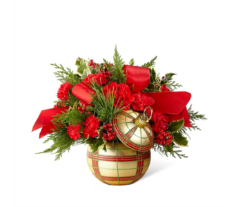 The FTD� Holiday Delights� Bouquet in Des Moines IA, Doherty's Flowers