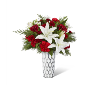The FTD� Holiday Elegance� Bouquet in Des Moines IA, Doherty's Flowers