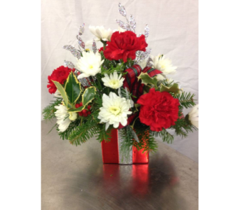 Glitter Present Box in Hagerstown MD, Chas. A. Gibney Florist & Greenhouse