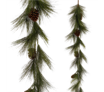 5' Pine Garland in Mobile AL, Cleveland the Florist