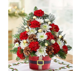 Holly Jolly Bouquet in Palm Desert CA, Milan's Flowers & Gifts