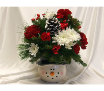 Jolly Snowman in Hollidaysburg PA, Warner's Florist Gifts & Greenhouse