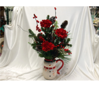Snowman Mug in Hollidaysburg PA, Warner's Florist Gifts & Greenhouse