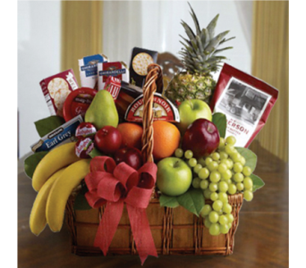 Fruit and Gourmet Basket in Utica NY, Chester's Flower Shop And Greenhouses