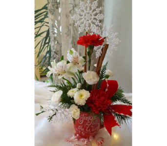 JINGLE ALL THE WAY in The Villages FL, The Villages Florist Inc.