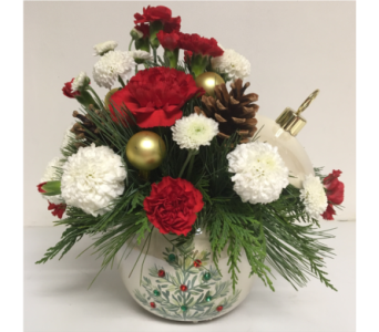 Chirstmas Ornament 2017 - Designed All-Around in Wyoming MI, Wyoming Stuyvesant Floral