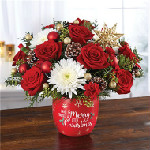 Merry Little Christmas in Round Rock TX, Heart & Home Flowers