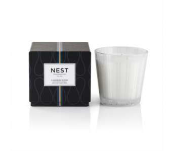 Nest Cashmere Suede 3-Wick Candle in Little Rock AR, Tipton & Hurst, Inc.