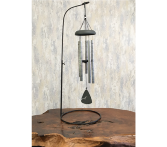 Always Near Memorial Wind Chimes with Stand in Wyoming MI, Wyoming Stuyvesant Floral