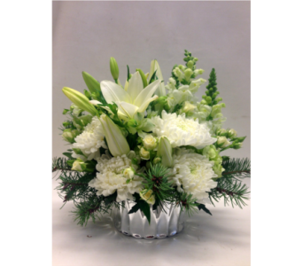 All White in Victoria BC, Fine Floral Designs