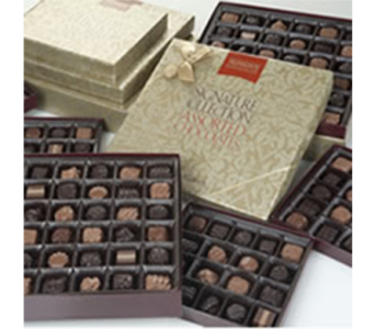 Munson's Chocolates Signature Collection in Trumbull CT, P.J.'s Garden Exchange Flower & Gift Shoppe