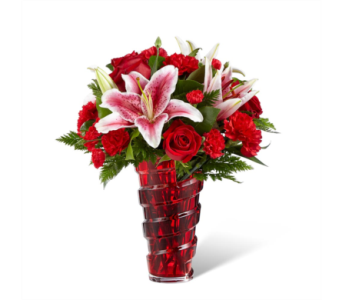 The FTD® Lasting Romance® Bouquet in Des Moines IA, Doherty's Flowers