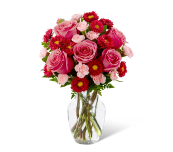 The FTD® Precious Heart Bouquet in Des Moines IA, Doherty's Flowers