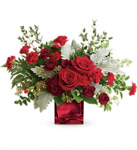 Rich In Love Bouquet by Teleflora in Evergreen CO, The Holly Berry