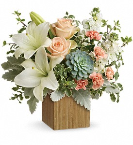Teleflora's Desert Sunrise Bouquet in Dubuque IA, New White Florist