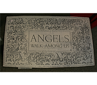 Angel Bench in Port Huron MI, Ullenbruch's Flowers & Gifts