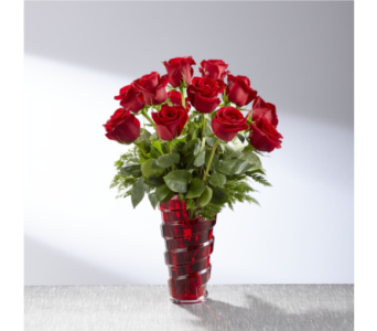 In Love with Red Roses bouquet in Sycamore IL, Kar-Fre Flowers