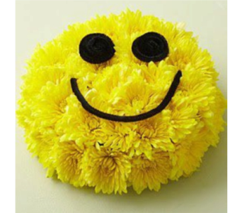 Smiley Face in Gaithersburg MD, Flowers World Wide Floral Designs Magellans