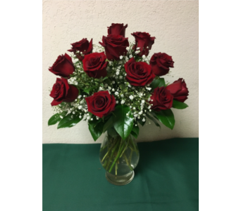 1 Dozen red roses in Oklahoma City OK, Flowers By Pat