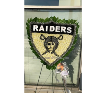 Oakland Raiders in Jersey City NJ, Entenmann's Florist