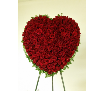 SYMPATHY HEARTS in Yonkers NY, Beautiful Blooms Florist