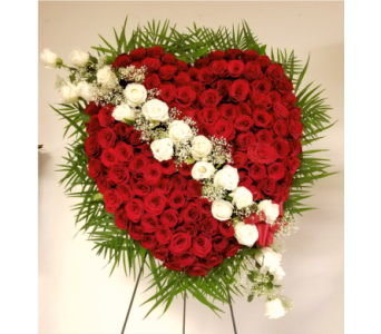 SYMPATHY HEARTS-2 in Yonkers NY, Beautiful Blooms Florist