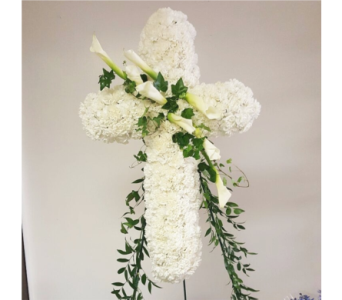 Sympathy crosses-1 in Yonkers NY, Beautiful Blooms Florist