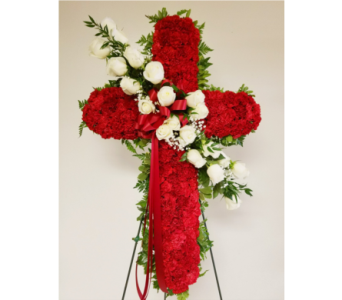 Sympathy crosses-3 in Yonkers NY, Beautiful Blooms Florist