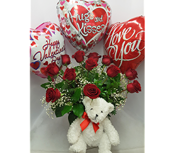 Heartfelt Valentine in Ann Arbor MI, Chelsea Flower Shop, LLC