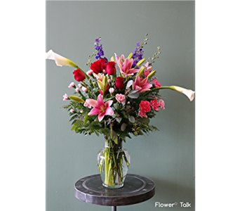 Flower Talk's Lovely Bouquet in Duluth GA, Flower Talk